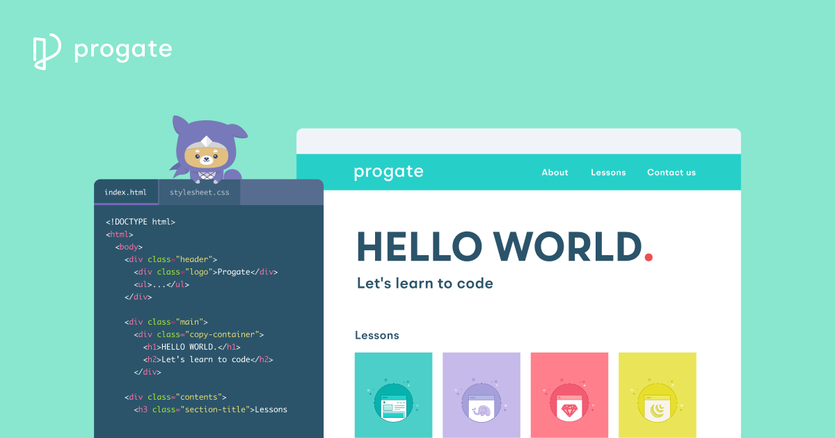 Progate(プロゲート) | Learn to code, learn to be creative.